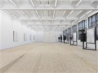 a home, exhibition view ii by oscar tuazon