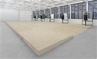 a home, exhibition view iii by oscar tuazon