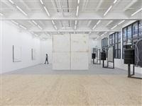 a home, exhibition view v by oscar tuazon