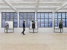 a home, exhibition view xi by oscar tuazon