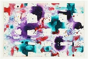 untitled (grid) by sam francis