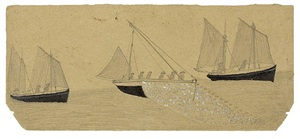three luggers by alfred wallis