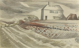 dymchurch, 1922 by paul nash