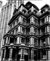 old post office, broadway and park row by berenice abbott