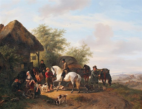 a halt at the inn by wouter verschuur the elder