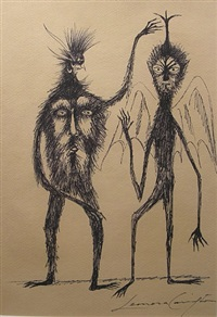 dos amigos by leonora carrington