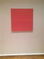 in daylight small paintings: installation view: anna bogatin checklist number 25.