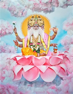 lord brahma by manjari sharma