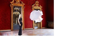 donatella versace: iconoclouds by berndnaut smilde