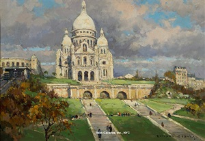 sacré coeur by edouard léon cortès