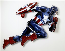 captain america by helmut lutter