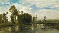 a summer day (jour d'été) by charles françois daubigny