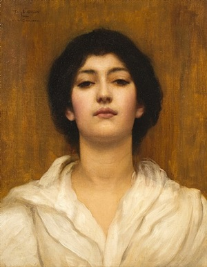 ethel warwick by john william godward