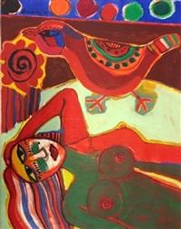 loiseau multicolore by corneille