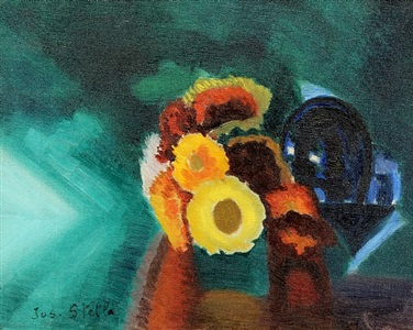 flowers by joseph stella
