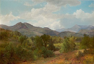 bouquet valley by william trost richards