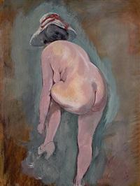 unbekleidetes modell by george grosz