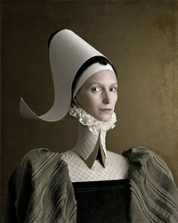 1503, ritratto di signora in verde by christian tagliavini