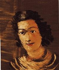 portrait de femme by andré derain