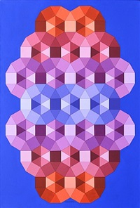 tizienne 2 by victor vasarely
