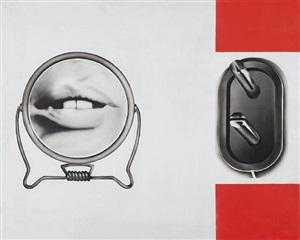 prise mâle + bouche (ouverte) by peter klasen