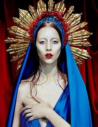 immaculée #3 by miles aldridge