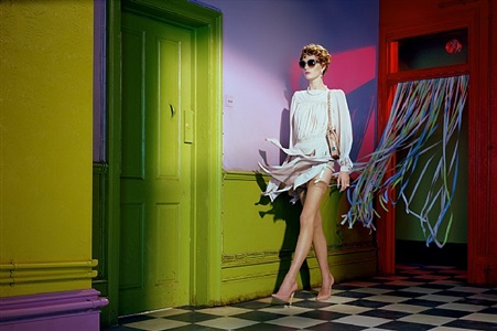 its all about attitude #4 by miles aldridge