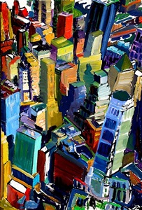 floating above the big tall buildings by tom christopher