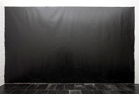 exhibition view, <br />axel vervoordt gallery by richard serra