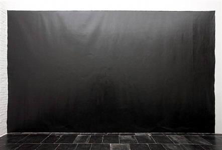 richard serra black is the drawing by richard serra