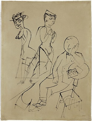 versunken by george grosz