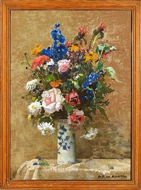 midsummer flowers by archibald russell watson allan