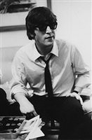 john lennon at the plaza, feb. 7, 1964 by bill eppridge