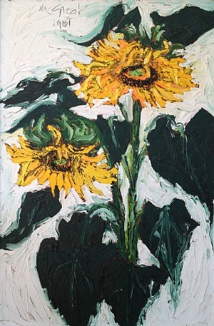 sunflowers by nanno de groot