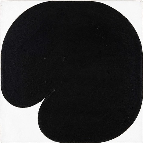 black painting by gary kuehn