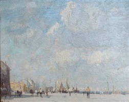 september morning, ostend by edward seago