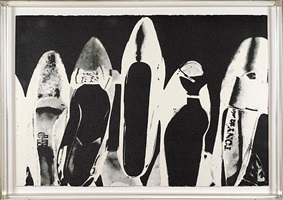 diamond dust shoes by andy warhol
