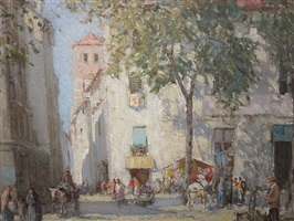 a street in granada by william lee hankey