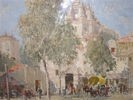 the market, granada by william lee hankey