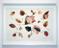 leaves study vii by jonathan yeo