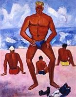 the lifeguard by marsden hartley