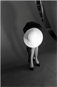 victoire fixing shoe by jerry schatzberg