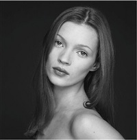 kate moss by terry o'neill