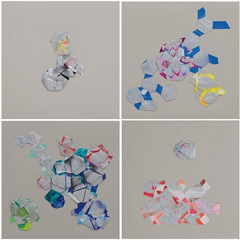 non-foldings – scenarios of non-geometric folding # 2 by haegue yang