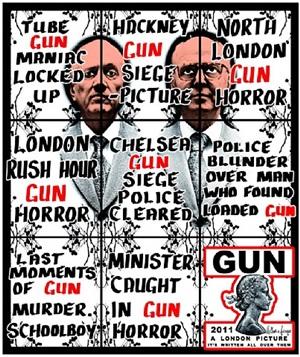 gun by gilbert & george