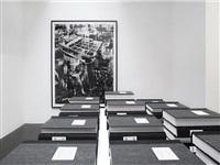 bücher/ books, installation barbara gross galerie by katharina gaenssler