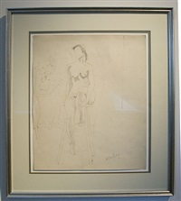 drawing 2 by milton avery