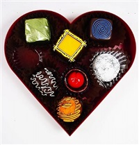 sweetheart sampler (yellow square) by peter anton