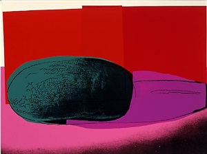 space fruit-watermelon (f&s ii.199) by andy warhol