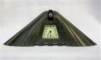 table clock by albert cheuret